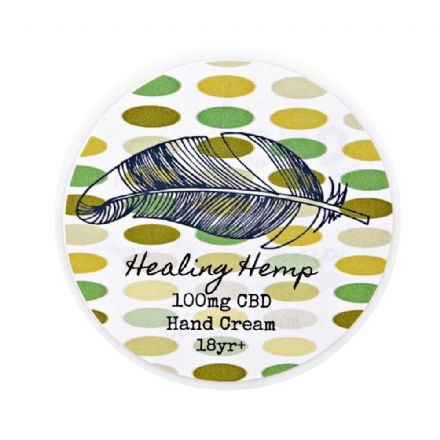 Healing Hemp 100mg CBD Hand Cream 50ml VEGAN
